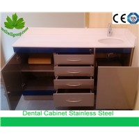WellWillGroup SSC-20 Stainless Steel Dental Workstation Cabinet