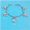 DIY Metal Wife Bracelet Gift Anchor Jewelry Accessory