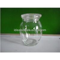 glass coffee jar with lids