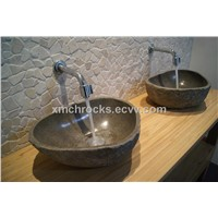 Black River Pebble Sink,Yellow River Pebble Sink,Cobble Sinks,River Cobble Sink