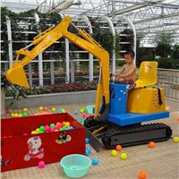 Electric mini Kids Play Excavator from Jining Sitong
