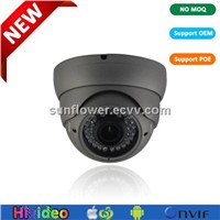 Indoor/Outdoor IP Dome CCTV Camera