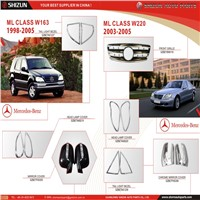 Mercedes Benz Car Parts ML CLASS W163 W220 Car Accessories From SHIZUN