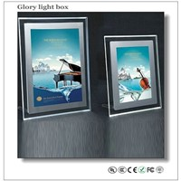 Led light pocket exhibition display