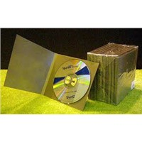 disc duplication with custom lancing pack CMYK printing