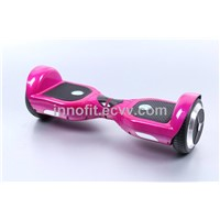 Segwaying scooter