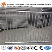 Hot Dipped Galvanized after Welding Swimming Pool Fence Temporary Fence