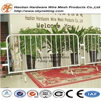 Hot Dipped Galvanized Crowd Control Barrier Barricade with Removable Feet