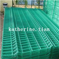 Galvanized Powder Coated Plain or Folded Welded Wire Mesh Panel