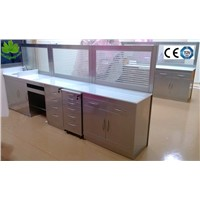 SSC-19 stainless steel dental operation cabinet