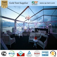 15x20m transparent party tent for wedding ceremony