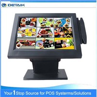 DTK-POS1556 15 Inch All in one Touch Screen POS System With MSR card readre
