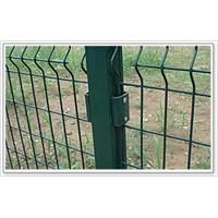 Framed Welded Mesh Fence (Galvanized & Plastic coated ISO 9001)