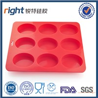 custom round silicone soap molds