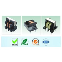 U type Vertical Common Mode Inductor common mode power filter UU9.8 EMI power line filter