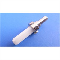 Fibre Optic Ceramic zirconia MU ferrule with flange