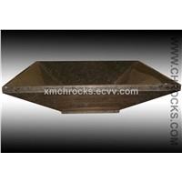 Brown Bathroom Sinks / Vessel Sinks / Stone Basin