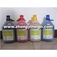 Flora polaris 15pl,35pl ink,5 liters/4 liters bottle solvent ink