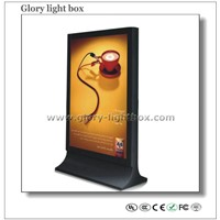Multi-Image Double Side Scrolling Light Box