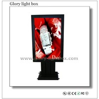 Scrolling advertising Light Box display