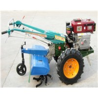 hot selling 8hp-12hp mini walking tractor with implements