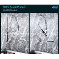 Commercial Single Handle Pre Rinse Unit with Pull Down Spray