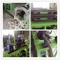 continuous flexible hose forming machine