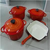 5pcs happy lady s/s casserole set