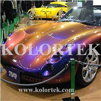 Color Shifting Pigment for Car Paint