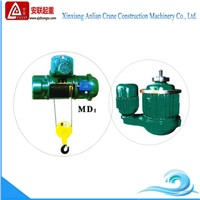 Construction lifting hoist equipment, md 20 ton electric wire rope hoist for sale