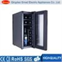 horizontal 6 bottle wine cooler with ETL/CE/ROHS