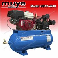Practical Gasoline  Air Piston Compressor