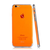 candy color back skin for iphone 6 and plus mobile phone skin sticker