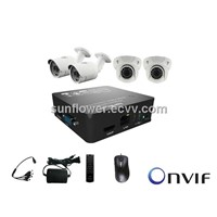 IP CCTV Camera Kit Mini NVR KIT 4CH