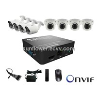 Mini NVR KIT 8CH CCTV Camera Kit For IP Camera