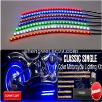 Single color Motorcycle LED lghting kits 48cm