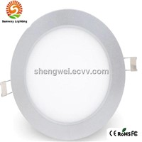 8 inch Ultrain slim LED ceiling panel fixture with dimmable controller