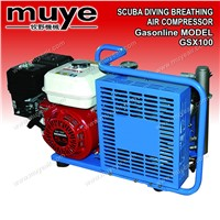 Model GSX100 scuba diving breathing air compressor
