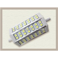 RGB dimmable LED light R7S lamps with 3years warranty