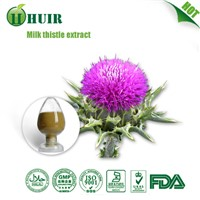 80% Silymarin Milk Thistle Seed Extract Natural Liver Health