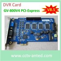 GV 800 DVR card PCI-E type v8.5 software Geovsion DVR Board