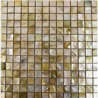 Yellow Shell Mosaic Tile Ceramic Tile
