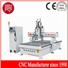 Three workstage with side drilling woodworking cnc router