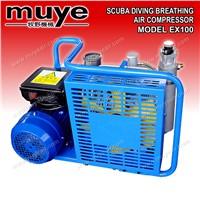Model EX100 Scuba Diving Breathing Air Compressors