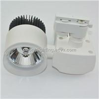 adjustable 110-130lm/w 10w /20w/30w cob led light track spot