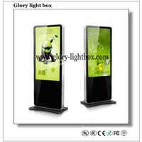 HD digital signage LCD advertising panel/ Floor standing AD player