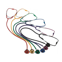 colorful stethoscope of good quality competitive manufacture in China with colored tubes