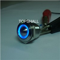 16mm waterproof and stainless steel push to start switch