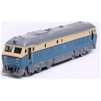 1/87 Die-cast Train Model electric China Dongfeng train HO Scale