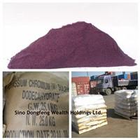 High Quality chromium potassium sulfate dodecahydrate, KCr(SO4)2.12H2O